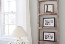 DIY Ladder projects / Repurposed and upcycled ladded projects