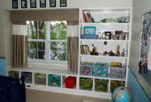 Toy storage / kids bedroom ideas