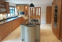 £60,000 Rencraft Used Solid Oak Kitchen with Wolf & Miele Appliances / A beautiful hand-made Rencraft kitchen – www.rencraft.co.uk – that cost £60,000. It was installed in 2011 and is in pretty much immaculate condition, having been lovingly maintained and looked after. Made from solid oiled Danish oak (with birch ply carcasses), it features standalone dresser, top of the range Wolf and Miele appliances and gorgeous granite worktops. Located in Kent TN15, the kitchen will need to be removed mid-May 2018.
