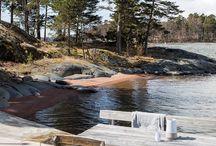 Swedish archipelago dream house