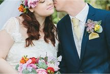 Bohemian Brides & Weddings / Bohemian brides and laid back weddings