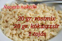 nocarb receptek