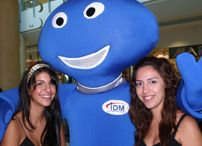IDM ADSL launch / The ultimate internet experience! DIRECT MARKETING S.A. & WONDER8 executed the field operation in malls & universities in addition to the Street Marketing campaign with the Skoodo character.