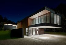 Cantilevered Houses