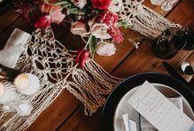 Moody romantic florals