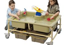 Sensory  Learning / The products in our sensory learning category cater to the needs of students who need to actually experiment with, or should we say sense, something in order to understand it. See all of our Sensory Learning products at: https://www.tomorrowsclassroom.com/products/copernicus-sand-water-sensory-center.