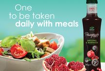Pomegranate Essence / One to be taken daily with meals. Enjoy the brand new Pomegranate Essence from Secret Gardens.   Made from 100% pure pomegranates.