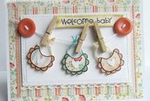 Baby & Kid cards / Baby shower, Kids birthday's