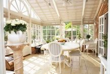 Beautiful conservatories