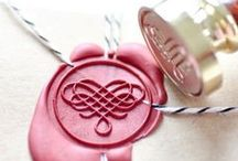 Sealing Stamp & Wax / materialoop