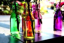 Flaschenfarbig