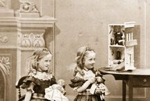 """sally (Non-Curls b/w) / """"And He said, Truly I say to you. If not you be converted and become as the little children, you may not enter into the kingdom of Heaven..."""" Mathew 18:3 - Victorian (1837-1901) edwardian (1901-10) ww1 (1914-18) interwar (1918-39) ww2 (1939-45+)"""