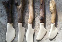 Keuzeles: klei en hout