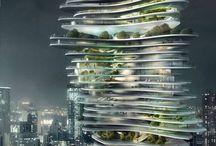 Organische gebouwen / Dit zijn gebouwen die je niet kunt meten