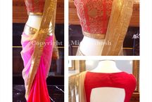 Saree n choli blouse, Indian fashion