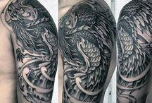 Tatuaje păsări