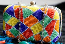 Designer Clutch / Designed equally for the western girl and the Indian lady, this clutch in your hand is bound to be your identity whether you wish to dress up or dress down. / by Blingstation