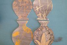 вазы бумага греция