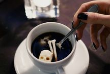 Creepy Skull And Bone Shaped Sugar Cubes / Check out these spooky additions you can add to your favorite hot beverage this fall.The Sugar Skulls were created by Snow Violent who developed a series of skull and bones made of grainy sugar. They're meticulously carved and pair nicely with all of your favorite fall treats.