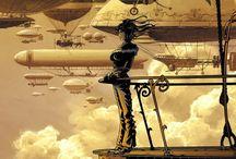 Steampunk artworks