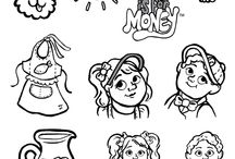 Colouring Pages / Tessa and Benji are so cute!  Have fun with special colouring pages from books 1 through 9.  Enjoy!