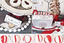 Holiday Dessert Tables