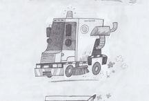 objet, vehicules