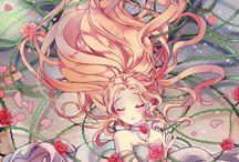 Девушки аниме
