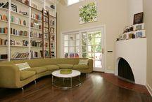 living room bookshelves / bookshelves