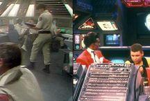 Sci Fi interiors
