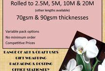Orchid Krafts / Cellophane..paper..tissue..crafts