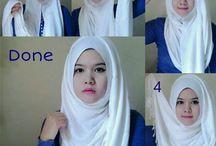 Tutorials for hijab