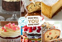 World Baking Day 2015 #PledgeToBake / This World Baking Day remind someone who matters, how much you care. Do something unexpected. Bake them a cake on Sunday 17th May.  Until then, make your pledge to bake here -> http://worldbakingday.com/za/