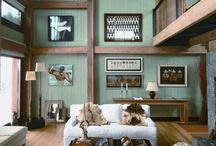 Mountain Home / This is a collection of images to inspire the renovation of my mountain home.