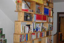 Libreria parete