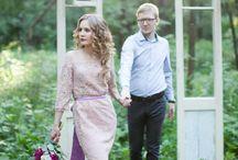 Выездная регистрация / Уютная скромная выездная регистрация от свадебного агентства Marry