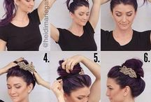 hair styles / Hair care and styling is every girls fairy land and sometimes a nightmare... get updates on easy hairstyles , updos, buns etc to make that bad hair day better