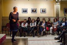 """Patricia McGill - Ciclo 2017 / Patricia McGill con """"Paisajes de la Irlanda que me visita"""" en el Casino Abulense - 11 de marzo de 2017 - Cuentacuarenta 2017"""