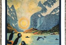 Fjords and Boats in Prints and Posters
