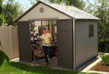 Domki ogrodowe polietylenowe / Zapraszamy do zapoznania się z naszą ofertą domków ogrodowych wykonanych z bardzo wytrzymałego tworzywa sztucznego, polietylenu. Produkty pochodzą z USA, co gwarantuje niesamowicie wysoką jakość oferowanych wyrobów