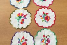 Hungarian embroideries by Judit