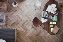 Harringbone floor