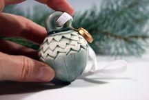 Keramik Weihnachten