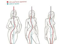drawing & 3D references / Various anatomical et poses references for drawing and 3d modeling.