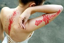 Red tatoos