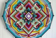 Textil / Mandalas, ojos de Dios, Alfombras...Todo lo que se pueda tejer!