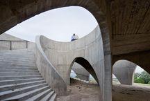 Escaleras de Hormigón / Concrete / Estas escaleras o escalones de hormigón es una recopilación tras horas de navegar en la web, espero les guste tanto como me han gustado a mi. / by Rubén Plana