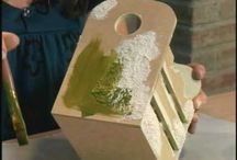 techniky úpravy dřeva-papíru atd...