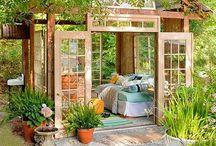 Casa de jardim