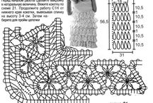 Брюггское кружево / Узоры и изделия в технике брюггского кружева